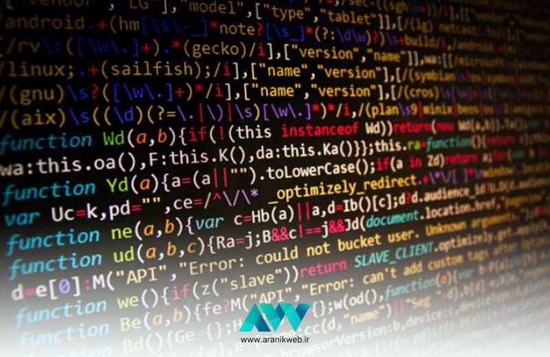 زبان های طراحی سایت | ارانیک وب