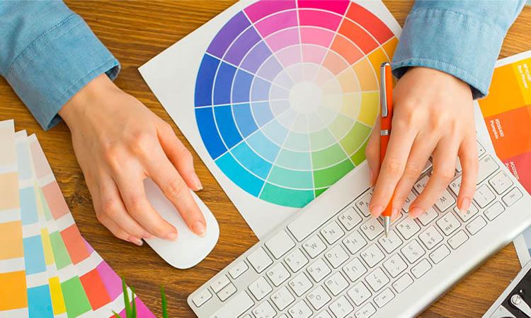 انتخاب رنگ مناسب در طراحی وب سایت
