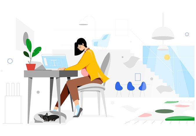 طراحی لوگو زیبا آرانیک وب