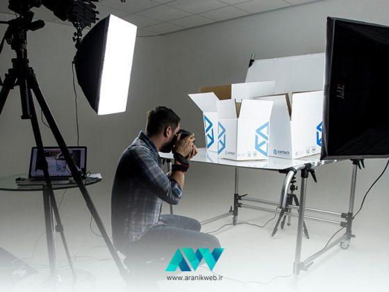 آموزش عکس برداری از محصول و کالا برای فروشندگان