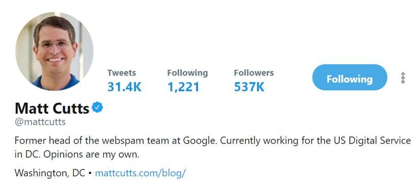 مت کاتس کارشناس شرکت گوگل